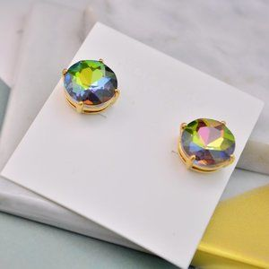 Kate Spade Colorful Zircon Stud Earrings